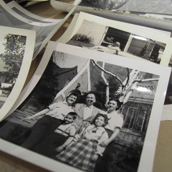 Assorted Vintage Photographs - Set of 12