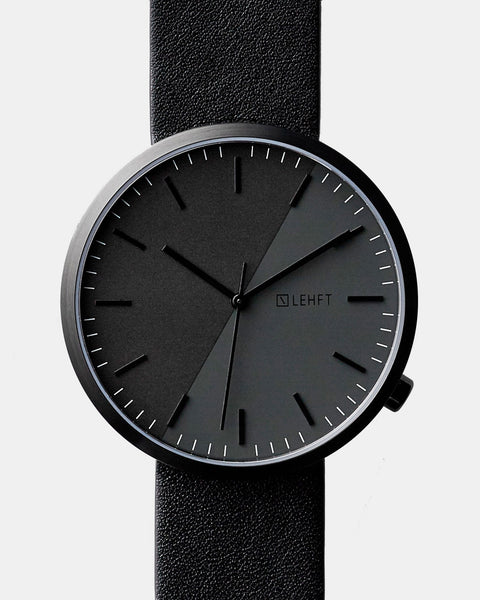 All Black Edition - LEHFT Minimalist Watches - 1