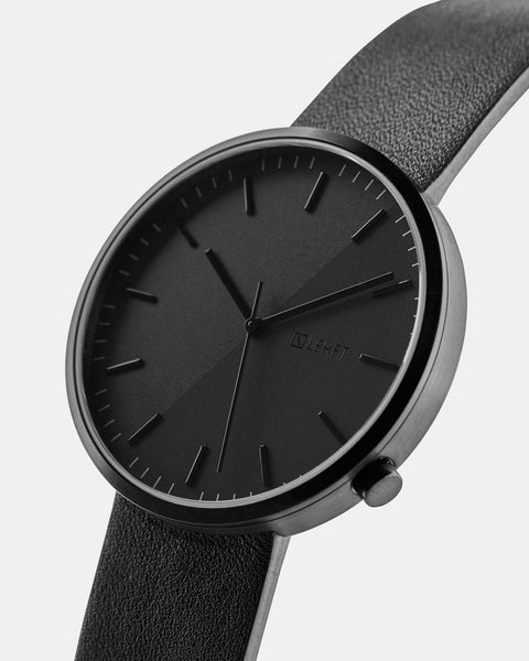 All Black Edition - LEHFT Minimalist Watches - 2