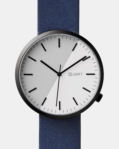 Black / Navy - LEHFT Minimalist Watches - 1