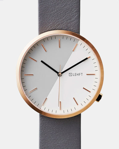 Rose Gold / Cool Grey - LEHFT Minimalist Watches - 1