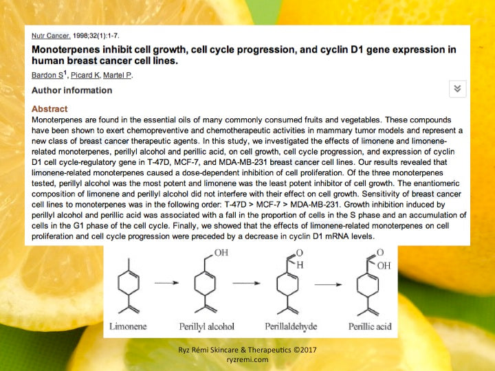 12 Medical Applications of Limonene 26
