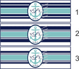 Nautical Wedding Cigar Bands