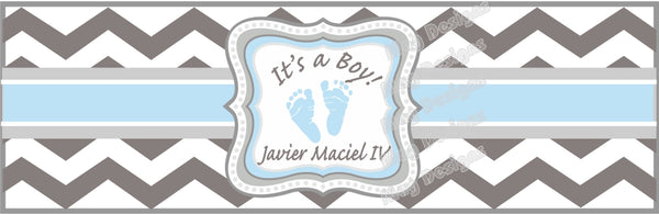 It's a Boy Cigar Bands