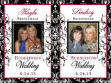 Bridesmaid Photo Wine Labels - Be My Bridesmaid & Maid of Honor - I Do Artsy Weddings
