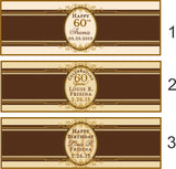 Birthday Cigar Bands for Any Year - I Do Artsy Weddings
