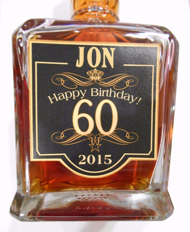 5AAA Birthday Liquor Labels TEMPLATE - Custom Labels - Personalized Birthday Gift - Happy Birthday Labels