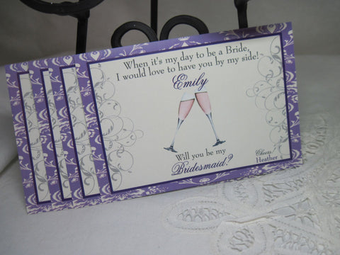 Mini Personalized Bridesmaid Gifts - I Do Artsy Weddings