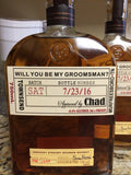 Be my Groomsmen Labels - Made to fit your bottles - I Do Artsy Weddings