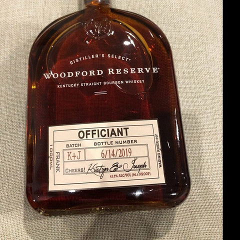 Officiant Whiskey Label