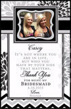 Custom Maid of Honor Labels for Wine Bottles