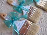 Sand Brush - Customized Beach Brushes - I Do Artsy Weddings