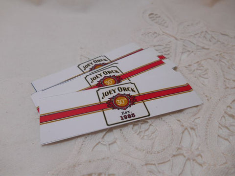 Cigar Bands - Birthday Cigar Labels - Cigar Bar - Happy Birthday Cigar Bands - 16 Bands