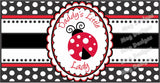 Lady Bug Daddy's Girl Cigar Bands - It's A Girl!