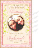 Will you Be My Maid of Honor + Bridesmaid Labels - I Do Artsy Weddings