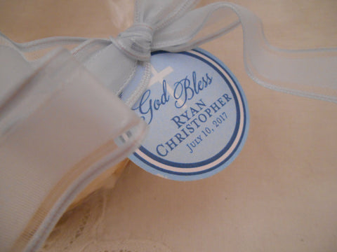 Tags - First Communion  / Favor Tags // Boy or Girl First Communion Custom Catholic Favor Tags//Quinceanera // For Cake Pops // Cookies
