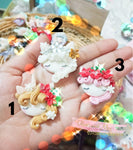 Unicorn Cameo Clay Embellishments - Choice of 2