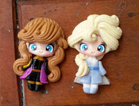 Frozen 2 Anna Bow Clays - Ready to ship