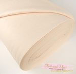 Pure Wool Felt - 1/2 Yard Beige Skin Merino Wool Felt - No. 77 - 1mm Thick - 45cm x 91.5cm