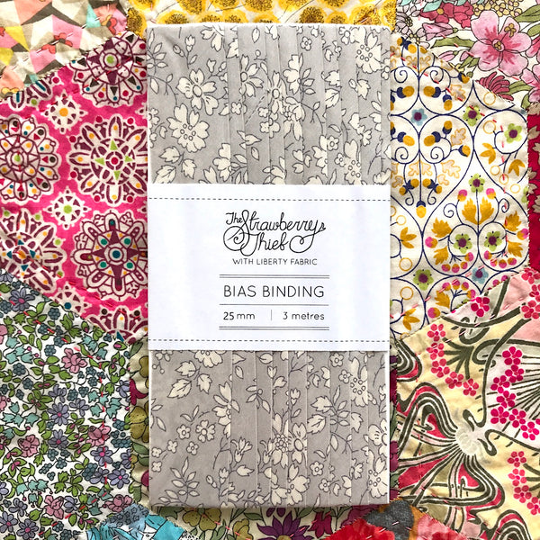 Capel K Liberty of London Bias Binding -25mm - 100% cotton Liberty Tana Lawn - 3m 3.28 Yards
