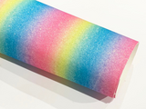 Candy Rainbow Fine Glitter Fabric