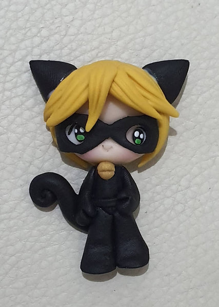 Cat Noir Bow Centre November Pre Order