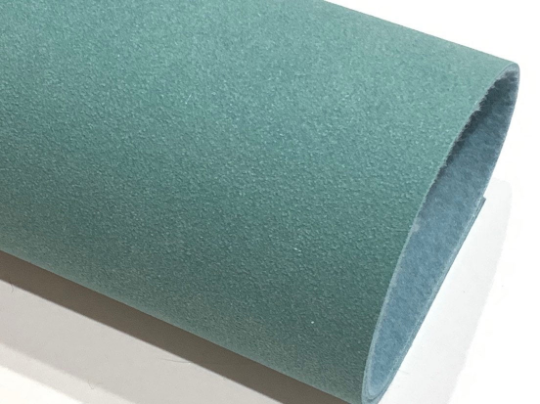 Cyan Faux Suede Fabric Sheet