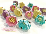Mulberry Paper Flowers - Wild Roses - Pretty Pastels