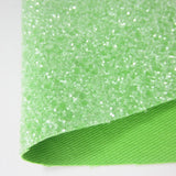 Pickle Green Sugar Chunky Glitter A4 Fabric Sheet