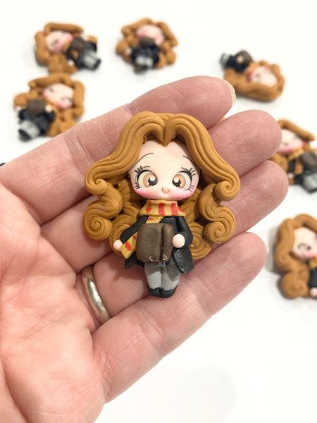 Hermoine Bow Clay Embellishment
