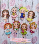 Easter Girls II Bow Clays FANTASY Pre Order