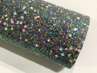 Scattered Gems Chunky Glitter Fabric Sheets - 3 Colours to Choose from