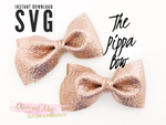 Instant download SVG file - The Pippa Bow - Downloadable SVG File Template