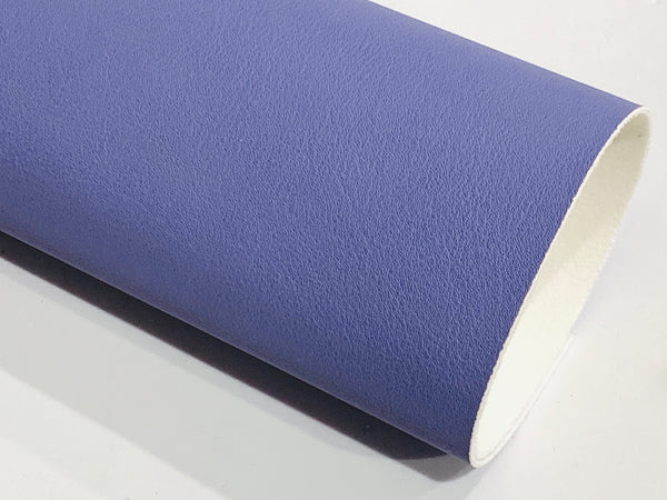 Dusty Blue Smooth Faux Leatherette Fabric 1.2mm thick