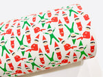 Green and Red Santa Elves Canvas Sheets