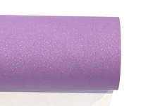 Light Purple Glitter Nubuck Faux Leather A3 or A4 Sheet