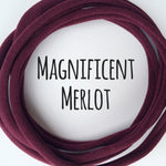 MERLOT Dainties Super soft headbands from Nylon Headbands UK