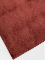 Chestnut Brown Velvet Fabric Sheet 0.9mm Sturdy for Bows