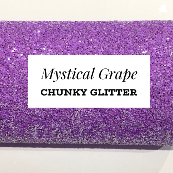 Mystical Grape Chunky Glitter Sheet