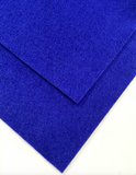 1mm COBOLT BLUE Merino Wool Felt A4 Sheet - No. 60