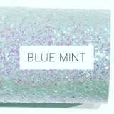 Blue Mint Glitter Fabric Sheet 0.7mm