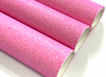 Fine Glitter Fabric Sheet in Candy Pink 20 x 34cm Sheet