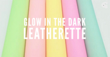 Glow in the Dark Colour Change Faux Leatherette - Pink or White