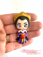 Evil Queen Clay Embellishment