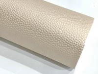 Pearl Cream Leatherette Sheet A4 Size Thick 1.0mm Pearl Cream