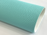 Cyan Faux Leather 1.1mm Thickness