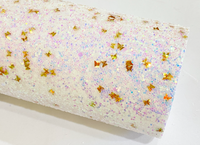 Twinkling Stars Chunky Glitter Canvas Collection