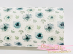 Vintage White Floral Faux Leatherette from Franchi-a-Pipo London