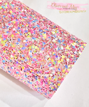 Pink Multicoloured Chunky Glitter