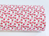 Winifred Rose Fabric Felt - Pink Bunny and Coordinating Petite Floral - Limited Stock